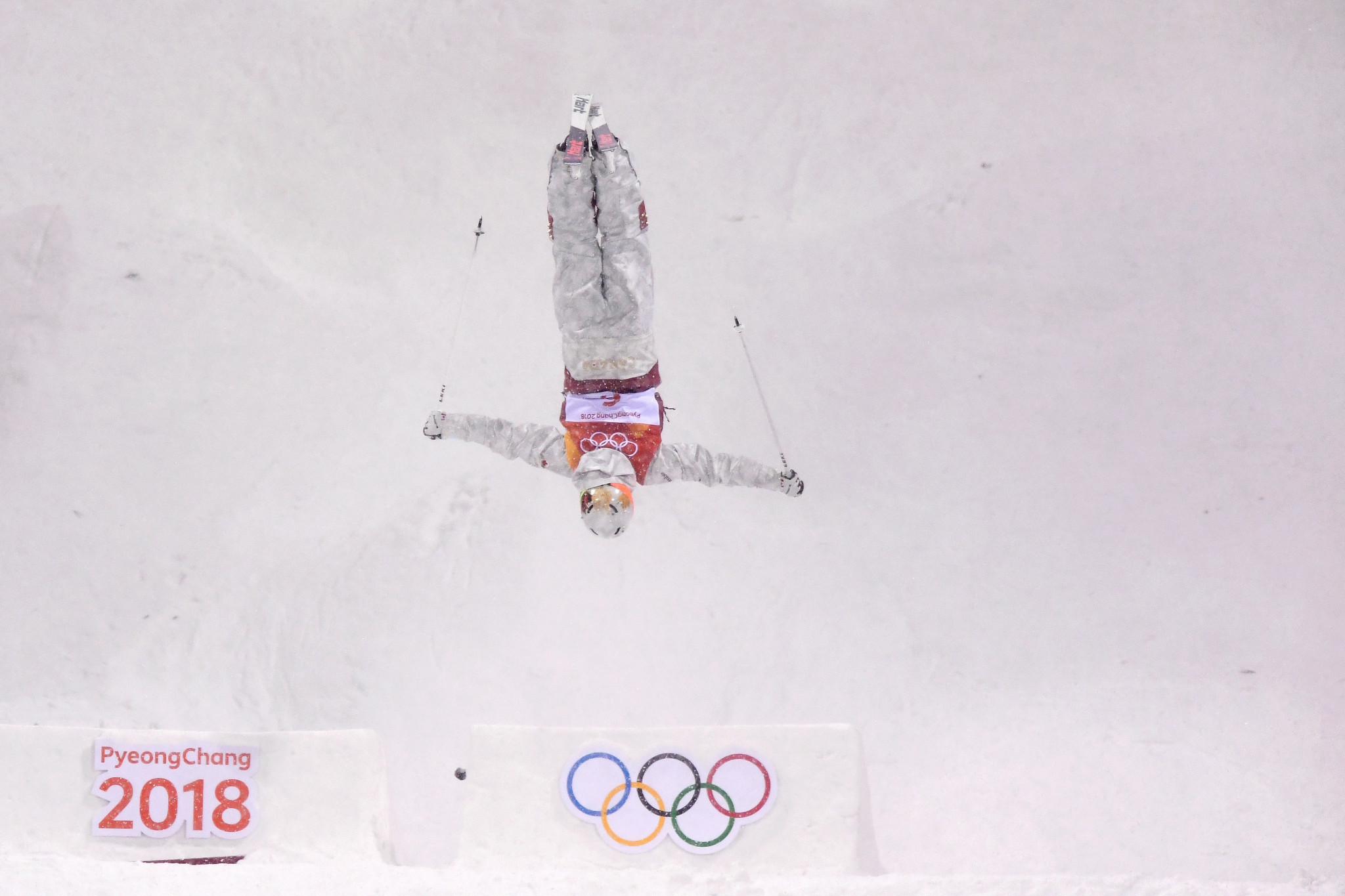 Canada's Justine Dufour-Lapointe fell just short of retaining her Olympic title ©Getty Images