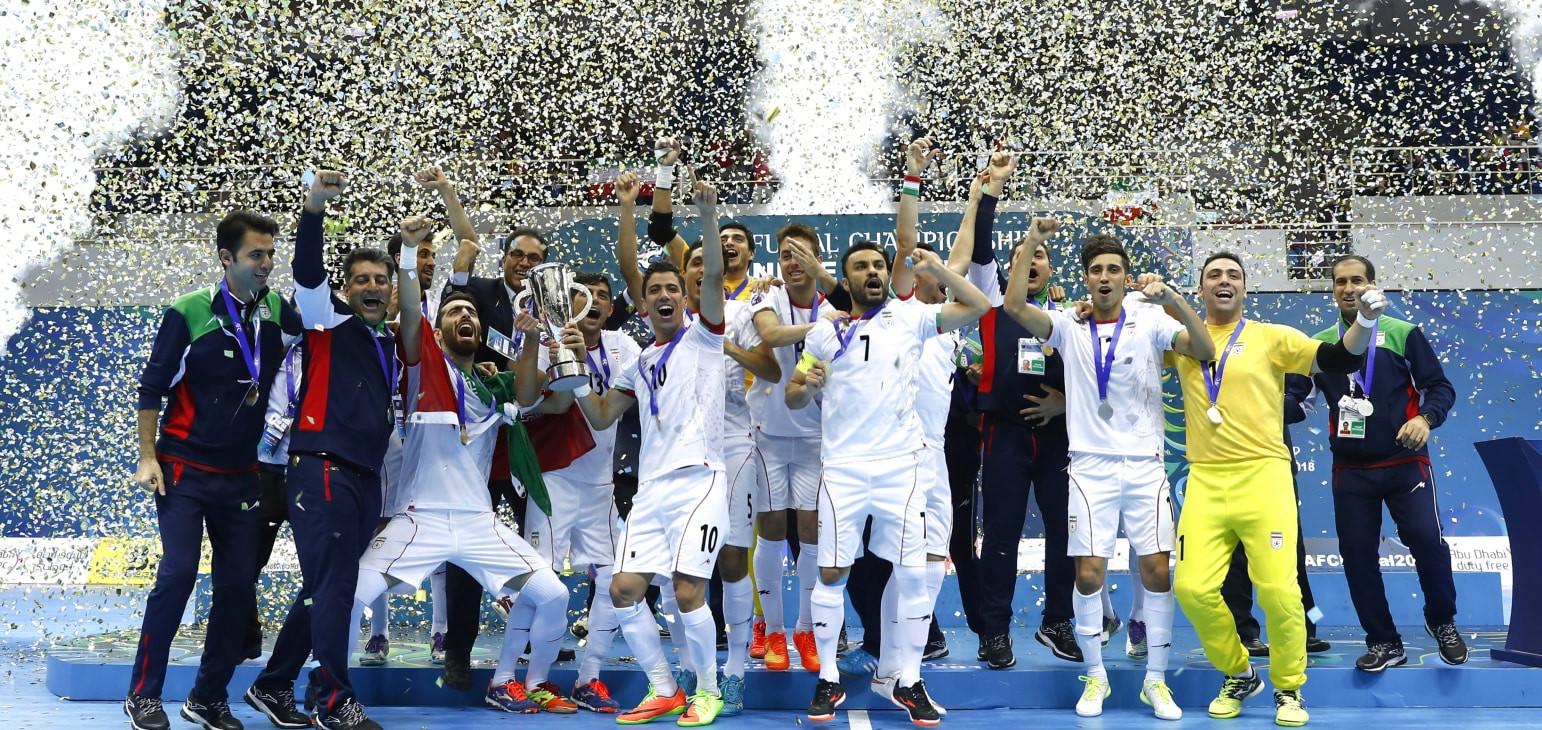 Iran have now won 12 Asian Futsal Championship titles ©AFC