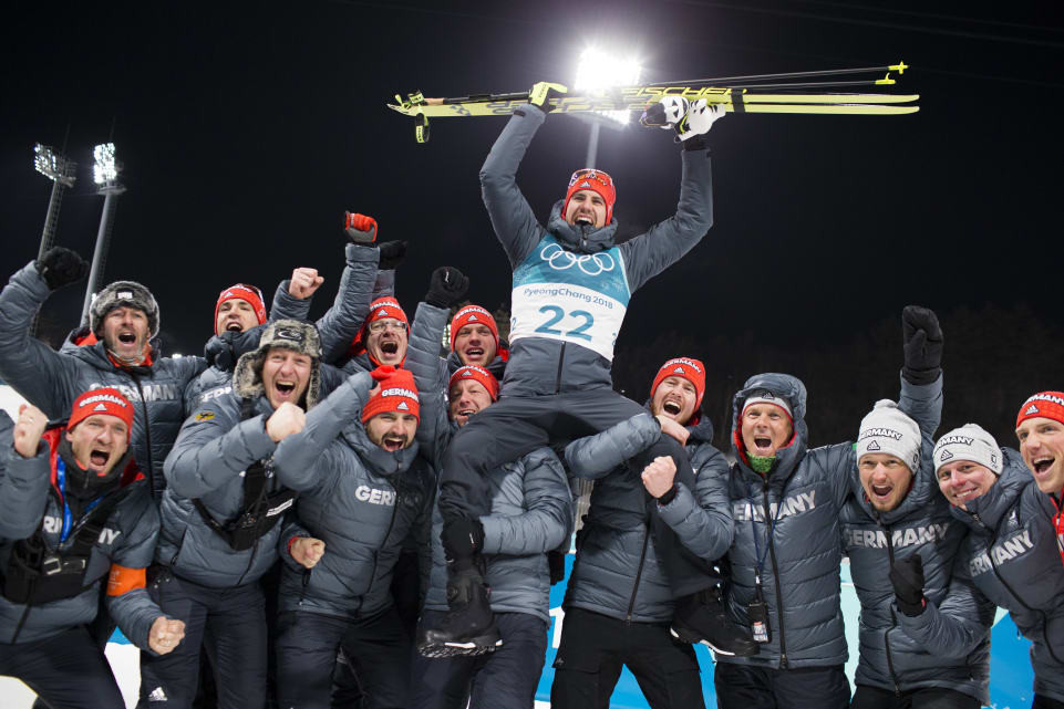 Czech Michal Krčmář wins silver in Olympic biathlon sprint