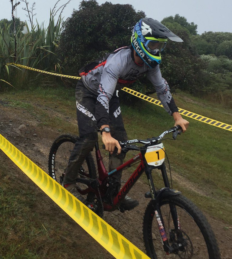 New Zealand dominate downhill races at Oceania Mountain Bike Championships