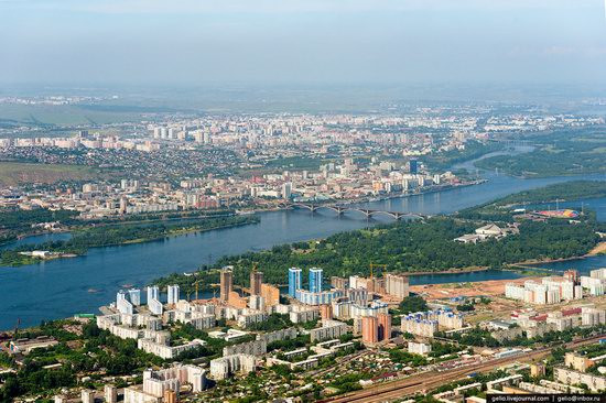 Krasnoyarsk are keen to use the 2019 Winter Universiade as an opportunity to welcome tourists to the region ©Russia Trek