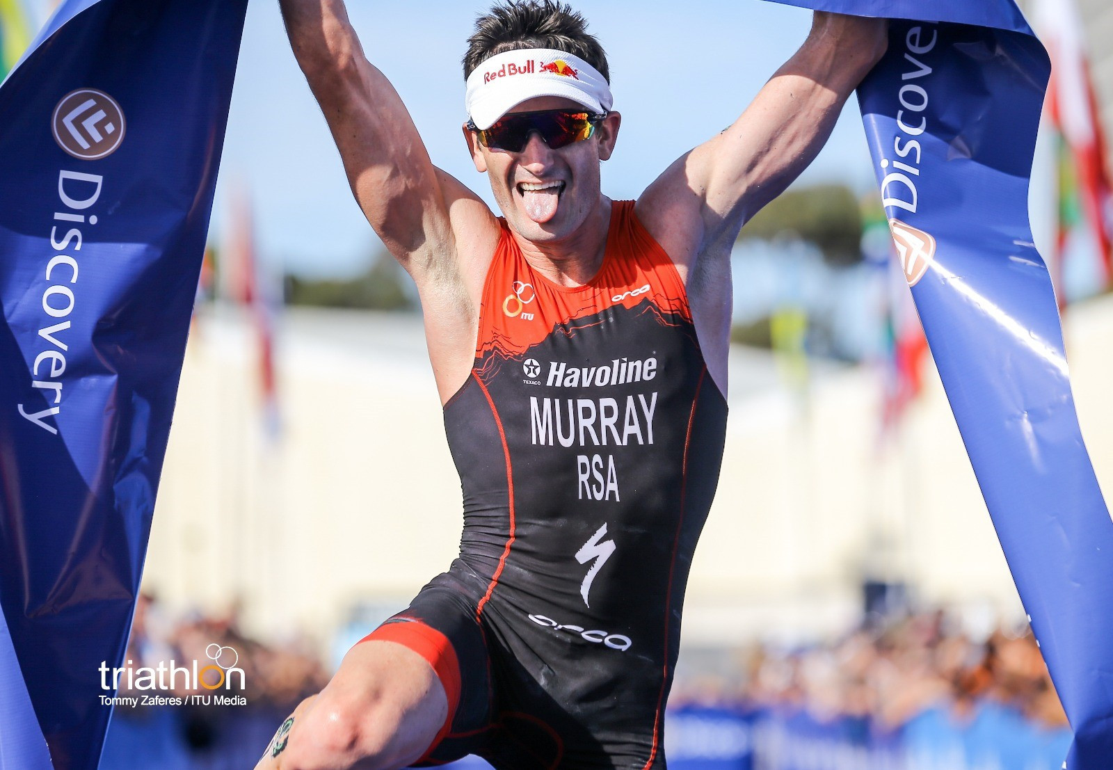 Richard Murray has posted blistering times so far this year over 5km ©World Triathlon