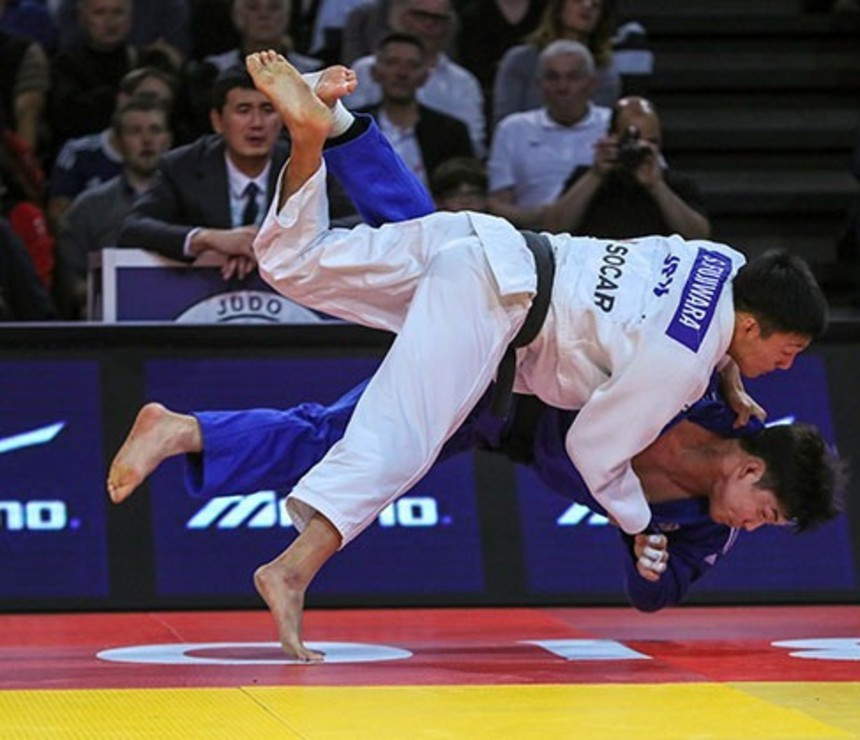 Japan rule men's finals as Conway earns historic British win at Paris IJF Grand Slam