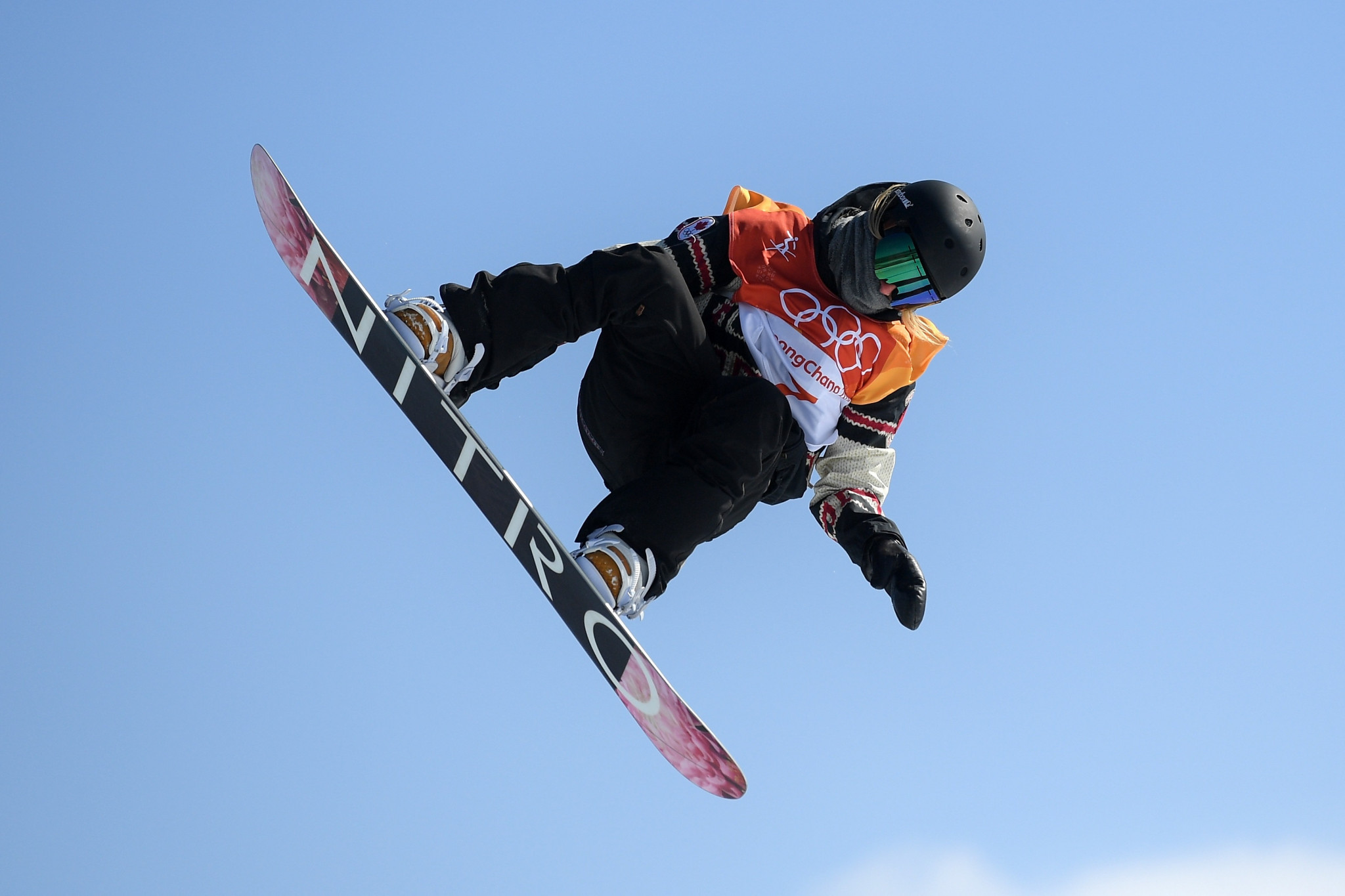 World champion Laurie Blouin of Canada came away with the silver medal ©Getty Images