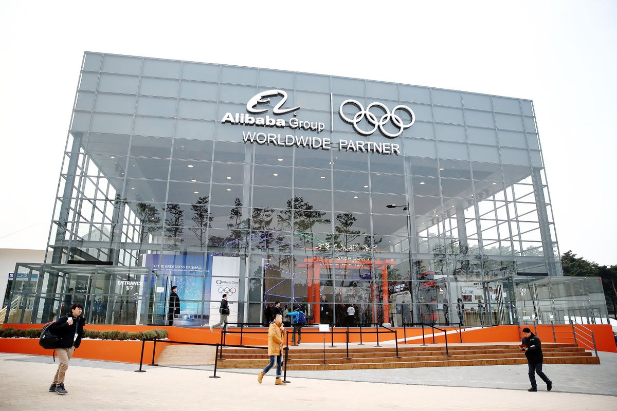 Sponsorship revenue is soon expected to exceed money the IOC earns from broadcasting ©Alibaba