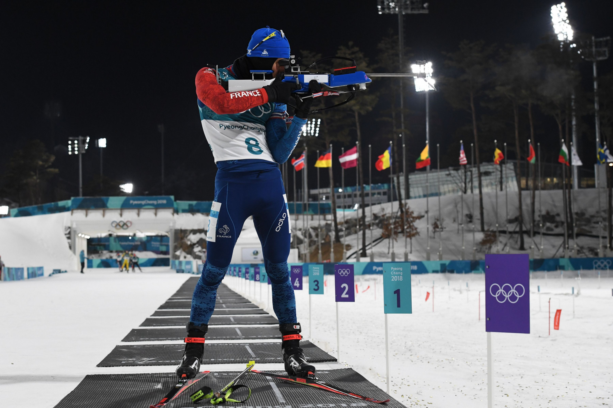 History-makers Fourcade and Dahlmeier crowned Olympic pursuit champions at Pyeongchang 2018