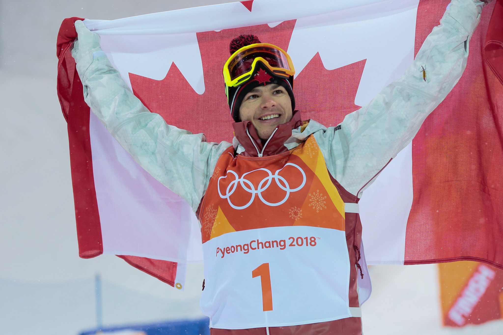 Kingsbury ends long wait for Olympic gold medal with moguls triumph at Pyeongchang 2018