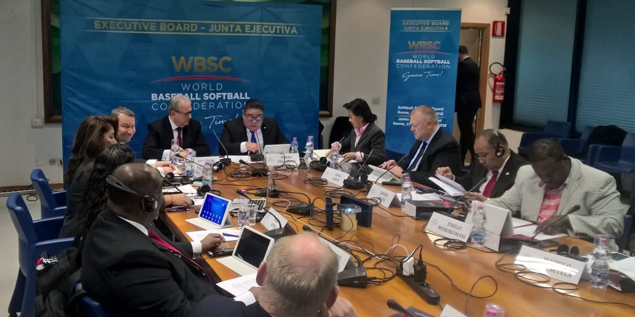 WBSC hold executive meeting in Rome to discuss Olympic future