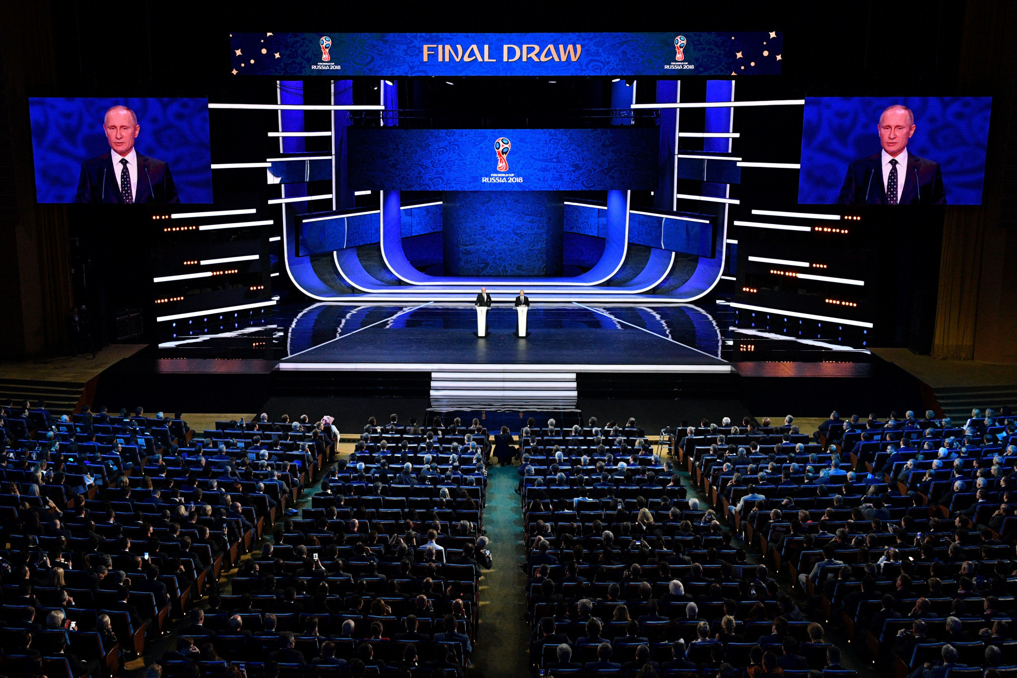 UA:PBC refused to broadcast the World Cup draw in December ©Getty Images