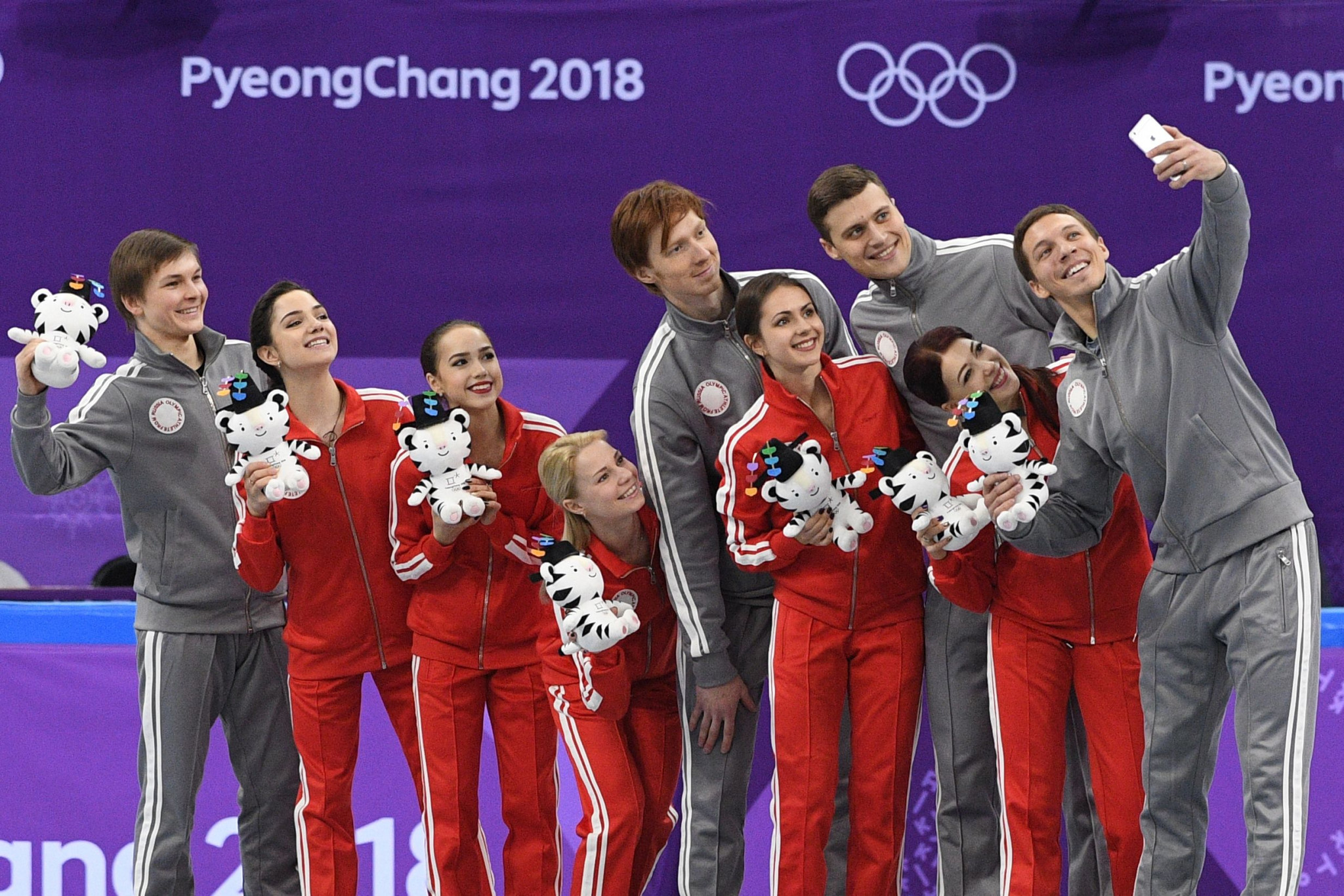 Russian companies show support on social media for athletes at Pyeongchang 2018