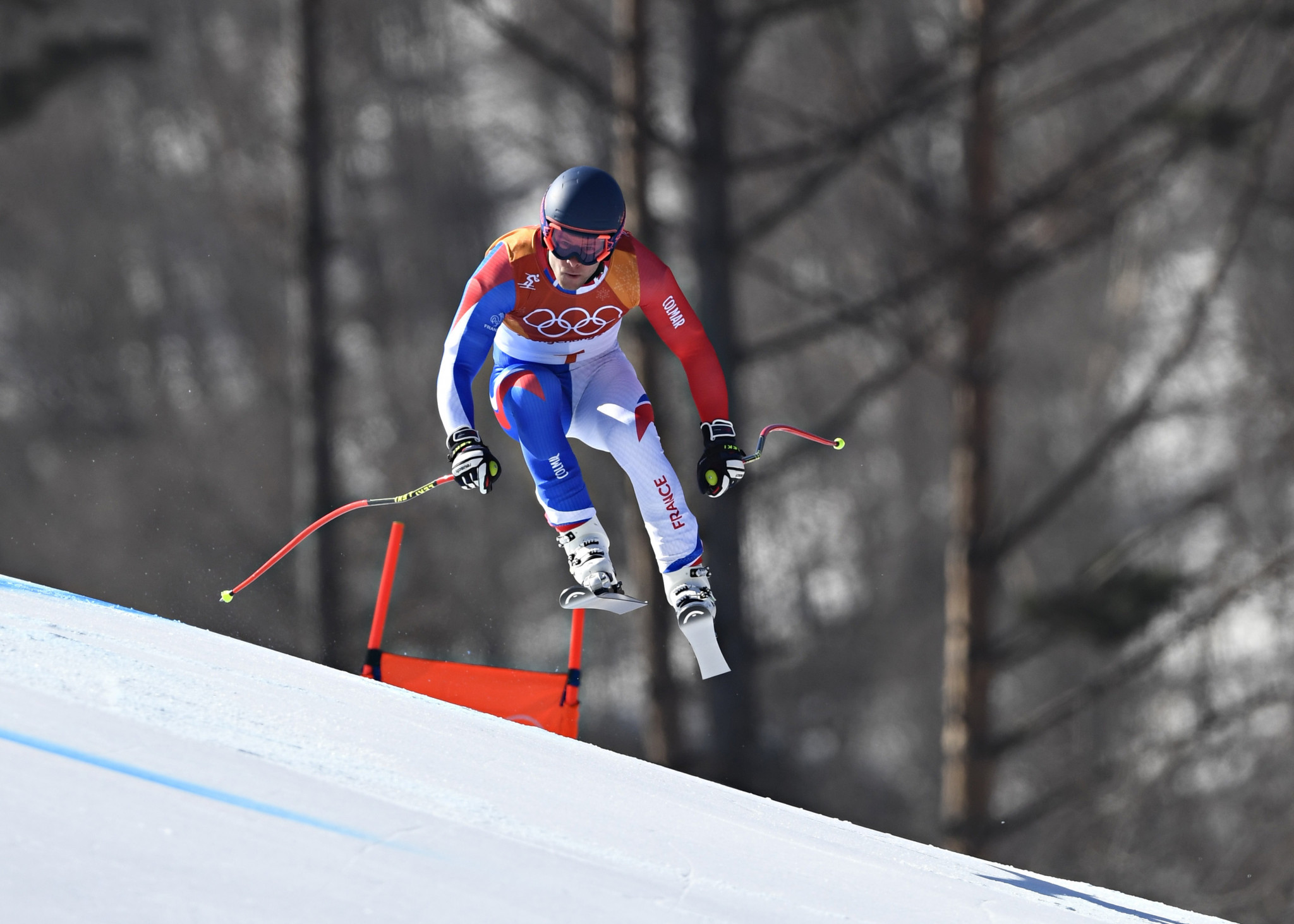 France's Alexis Pinturault finished a close second to take the silver medal ©Getty Images