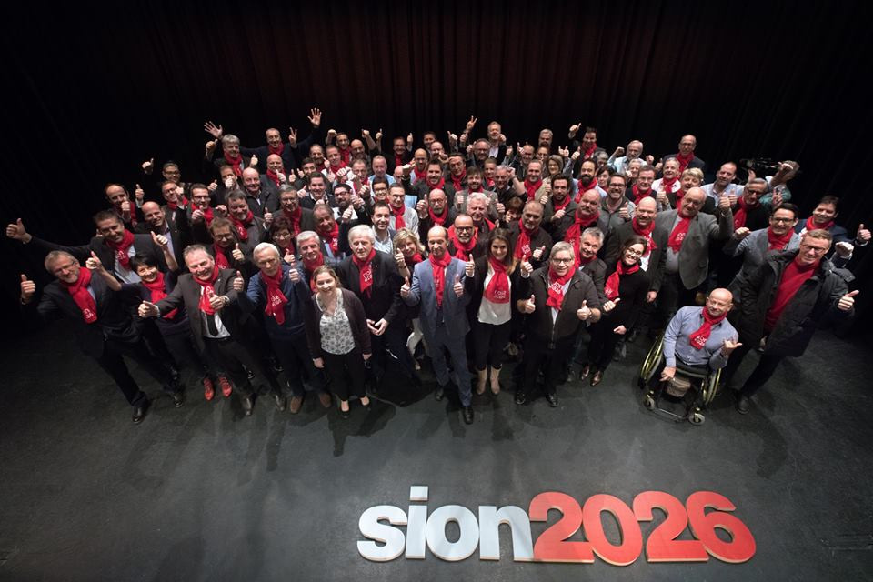 Sion are one of three European hopefuls for the 2026 Winter Olympics, but face a June referendum ©Sion 2026