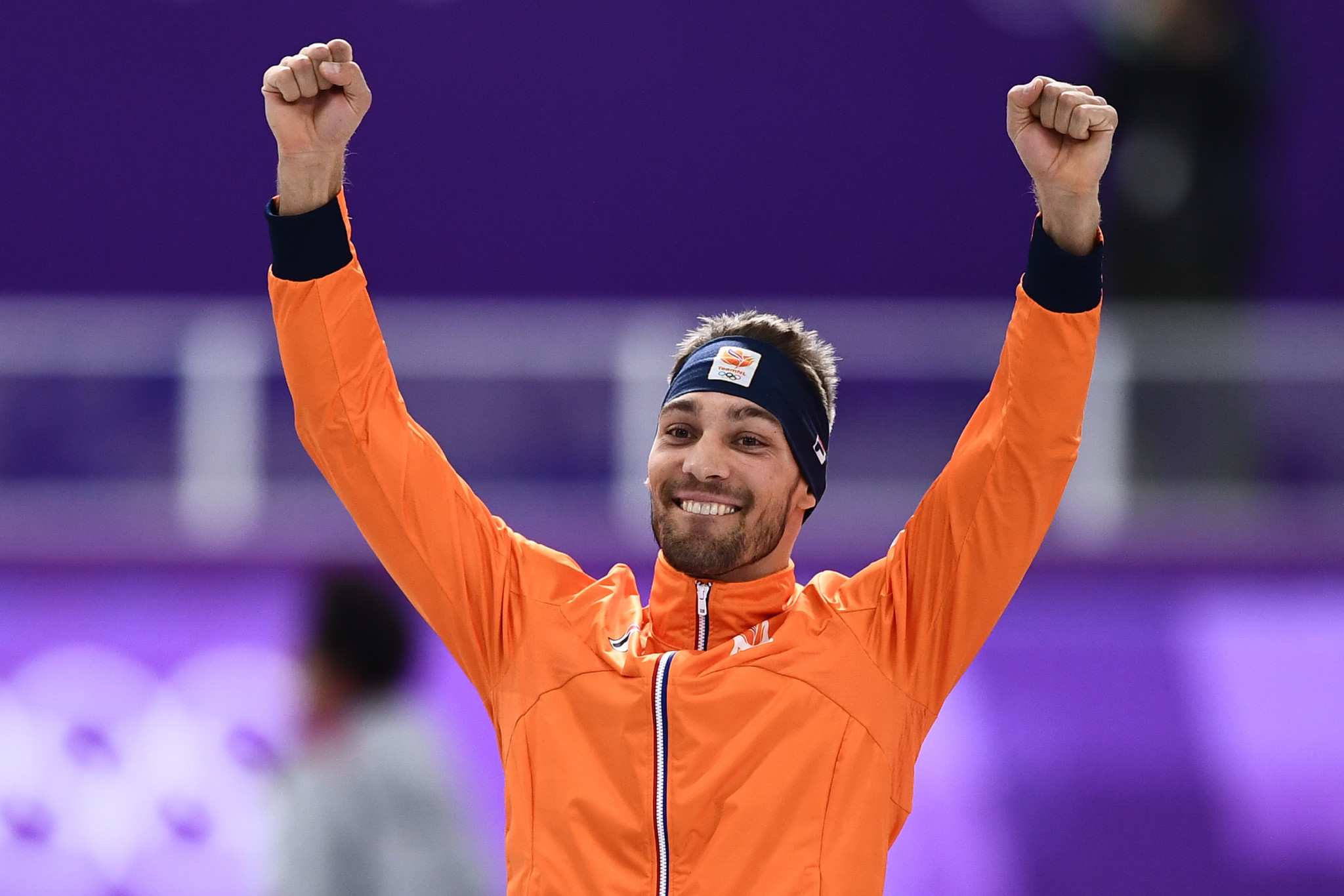 Nuis claims men's 1,500m gold as Netherlands' speed skating domination continues at Pyeongchang 2018
