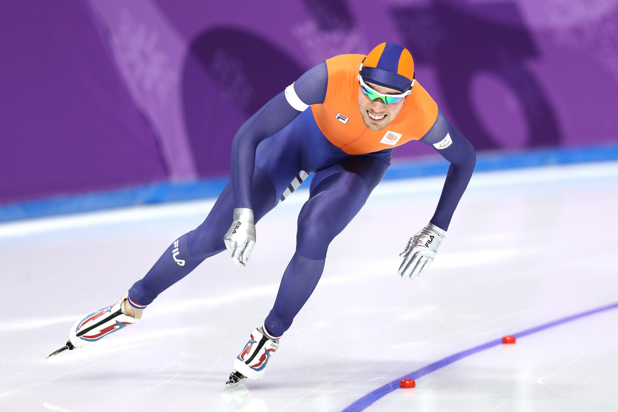 Patrick Roest of The Netherlands was a dominant winner in the men's 1000m discipline at the ISU Speed Skating World Cup finals ©Getty Images