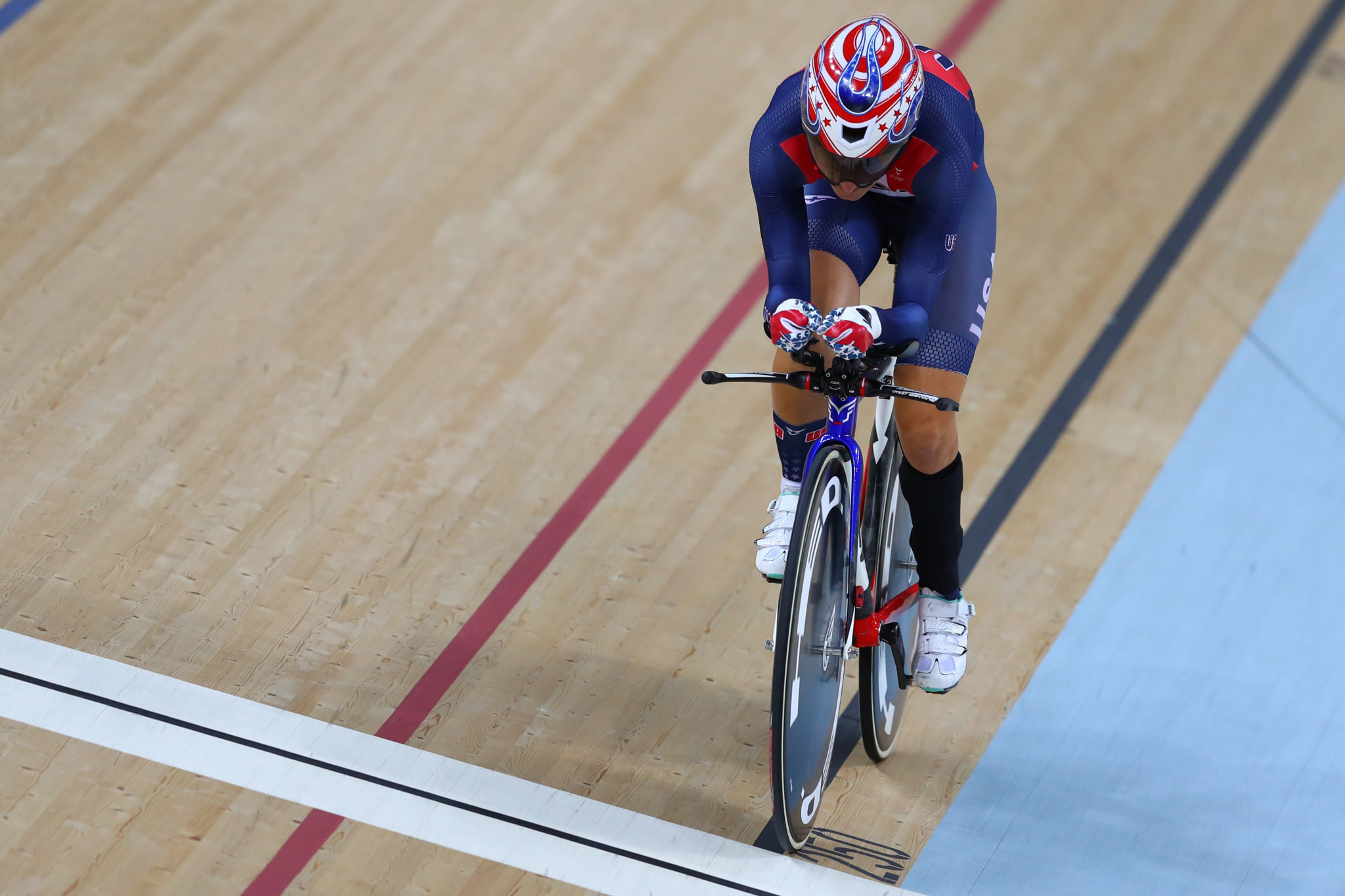 Jamie Whitmore is one of five Paralympians on the US women's team ©Getty Images