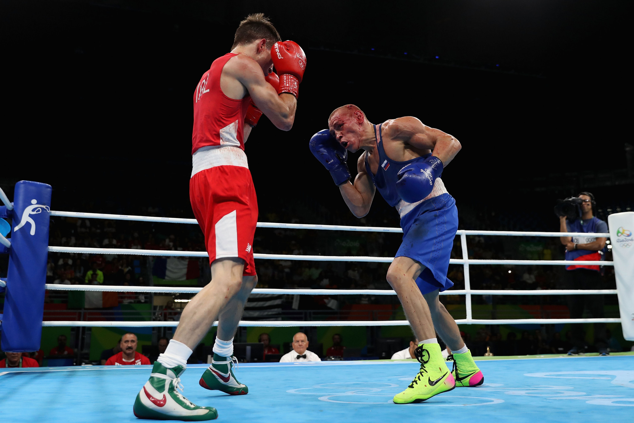 The boxing competition at Rio 2016 was hit by controversies involving judging ©Getty Images