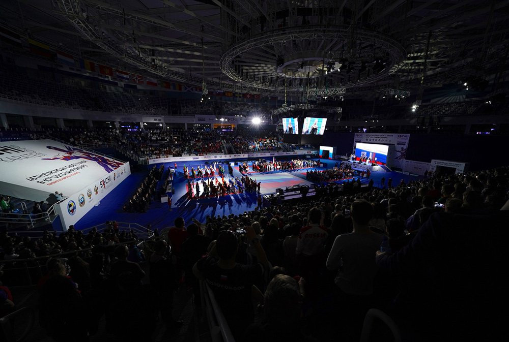The meeting coincided with the EFK Cadet, Junior and Under-21 Championships in Sochi ©WKF