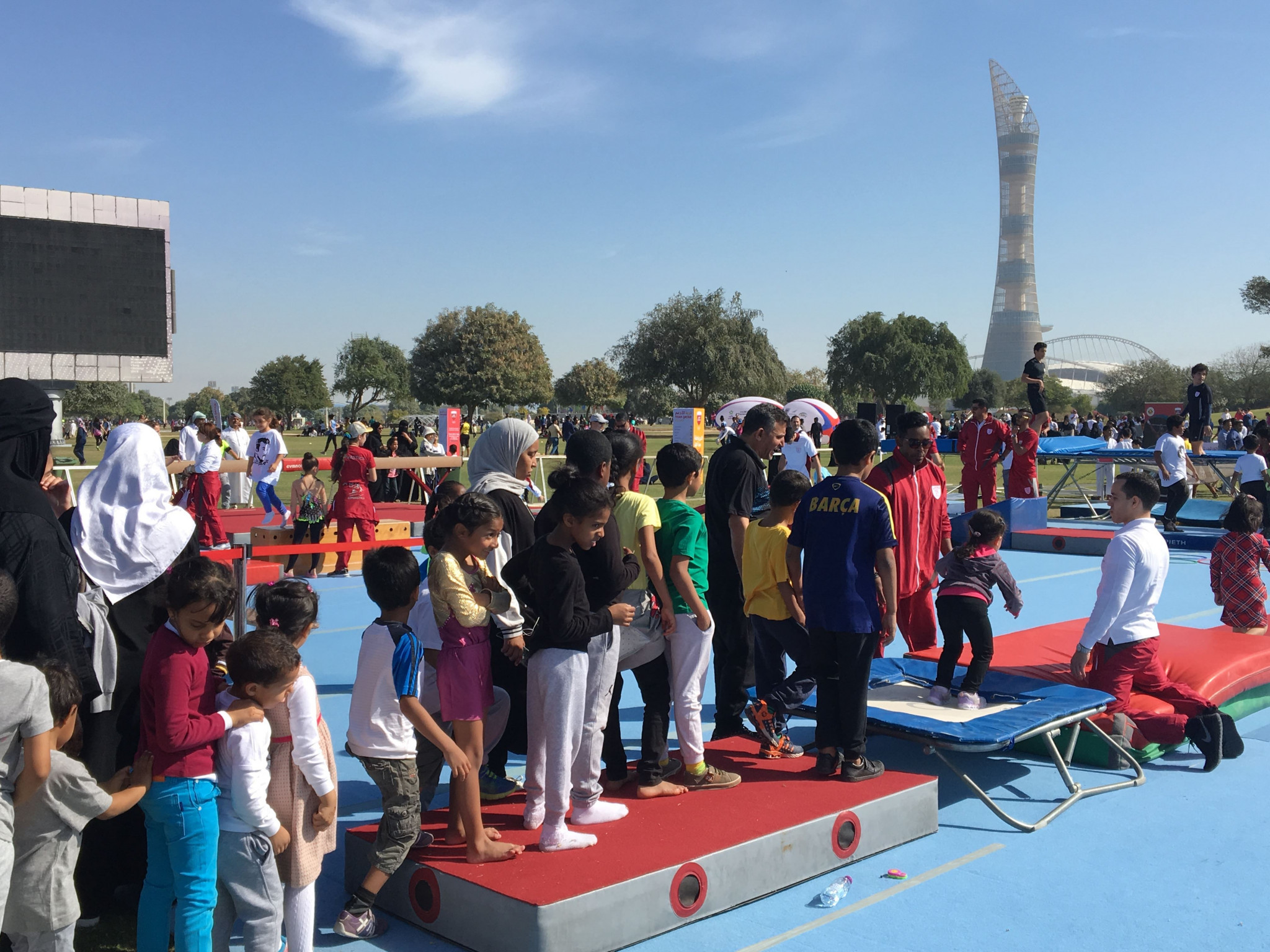 Qatar Olympic Committee celebrates National Sport Day