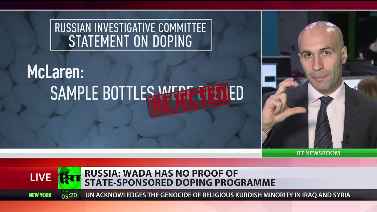Claims that the Russian Government were involved in a state-sponsored doping scheme have already been rejected by the Investigative Committee of Russia but WADA still wants to work with them ©RT