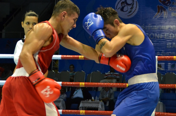Kazakh wins thriller as hosts enjoy strong day at Asian Confederation Boxing Championships