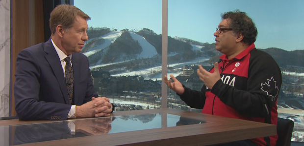 Calgary Mayor Naheed Nenshi told CBC's Olympic Games Primetime at Pyeongchang 2018 that he personally backs a bid for the 2026 Winter Olympic and Paralympic Games ©CBC