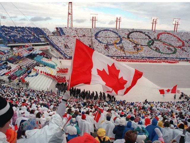 Calgary, pictured hosting the 1988 Olympic Games, is likely to provide the next referendum challenge for the IOC ©Getty Images