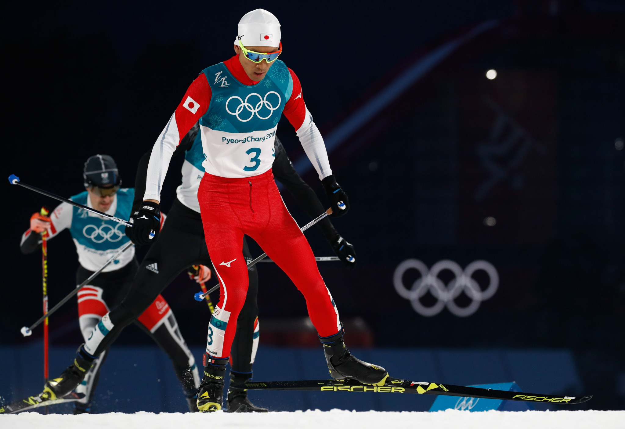 Japan's Akito Watabe had to settle for the Olympic silver medal for the second successive Games ©Getty Images