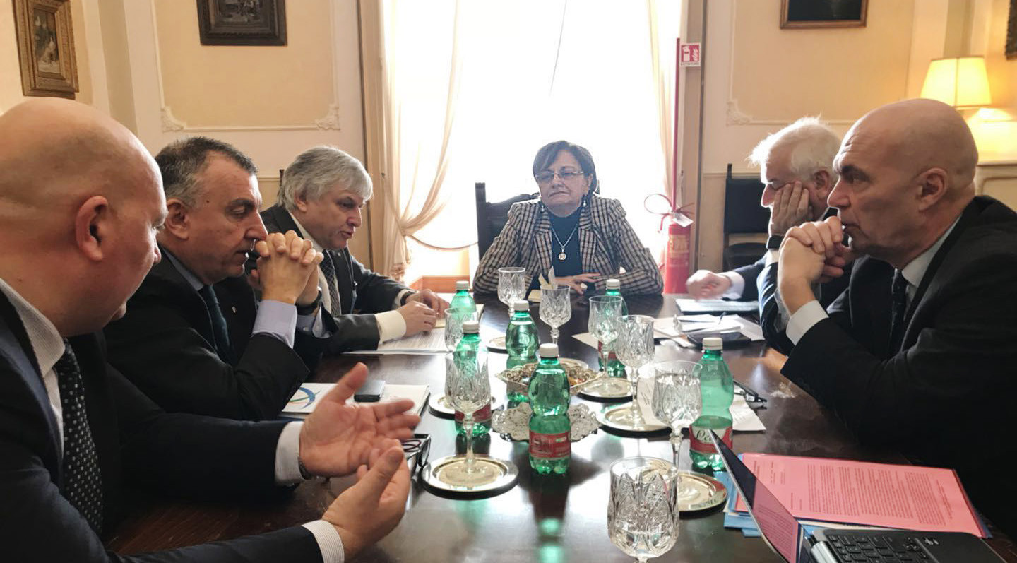 FISU meet Naples 2019 to discuss Summer Universiade preparations