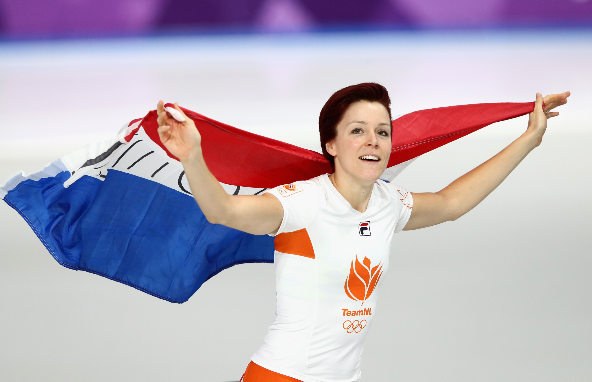 The Netherlands' Ter Mors breaks Olympic record to claim ...