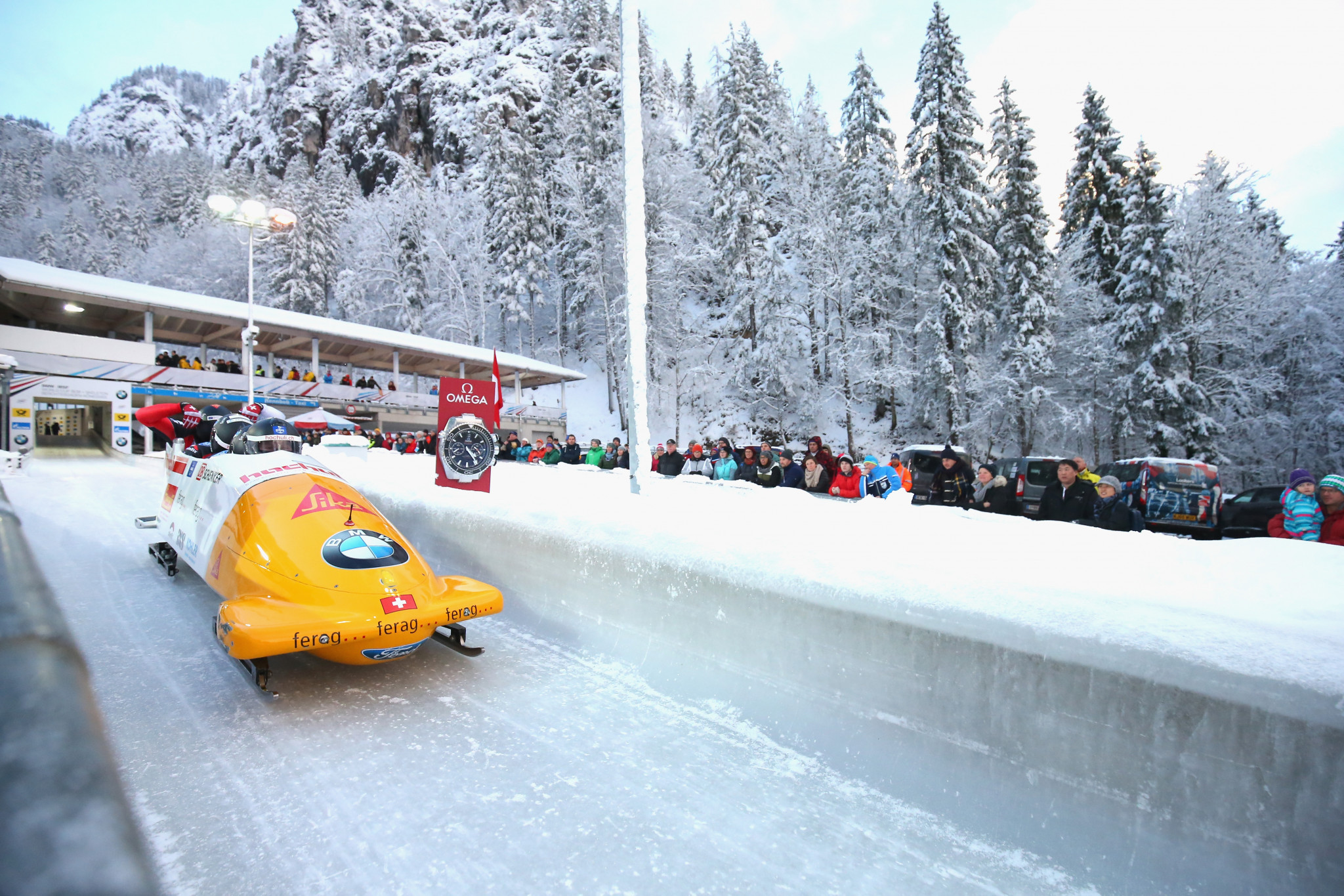 Events such as sliding sports could be held over the German border in Königssee ©Getty Images