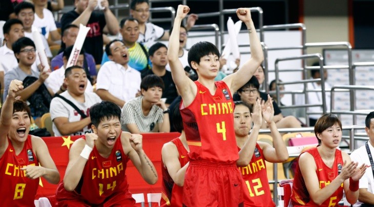 Hosts China maintain perfect start at FIBA Asia Women's Championship