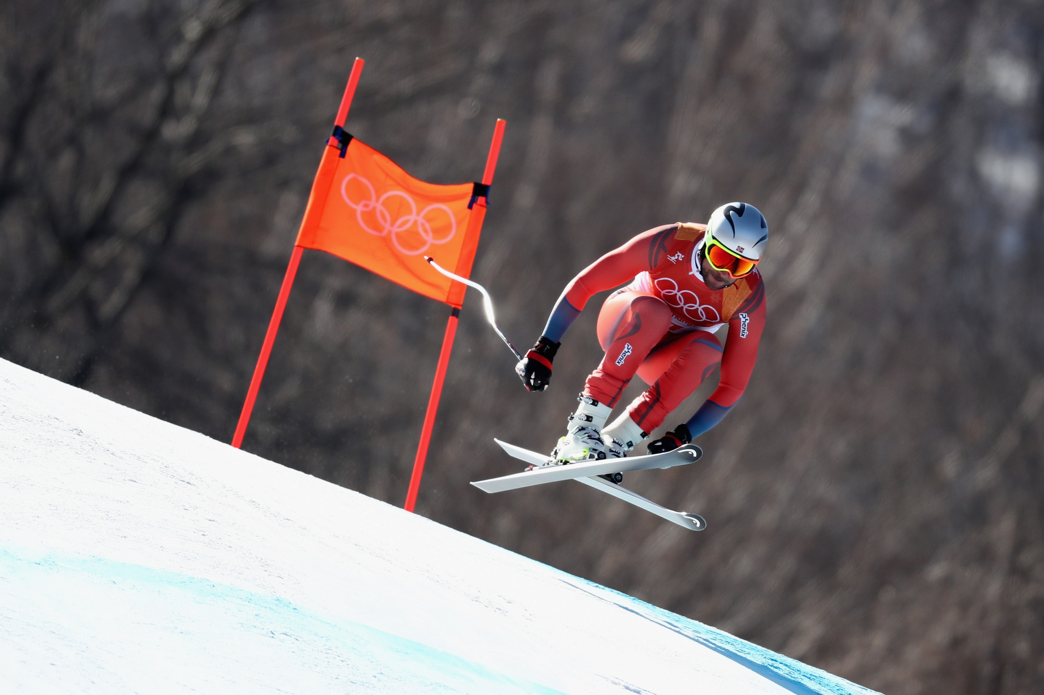 Svindal delivers display fit for royals to win Olympic men's downhill title at Pyeongchang 2018