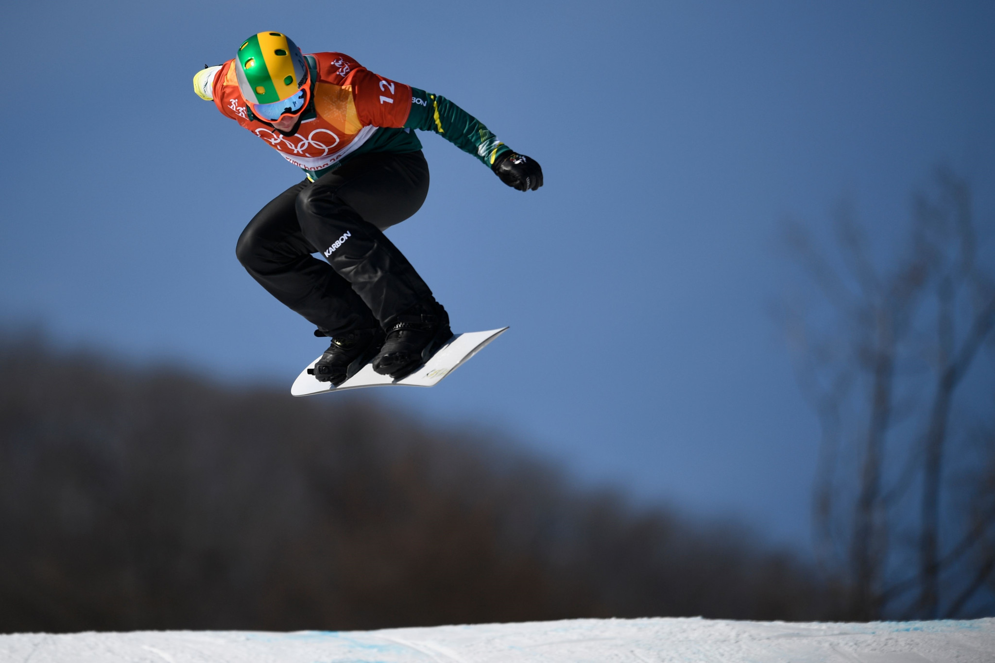 Australia's Jarryd Hughes claimed the silver medal ©Getty Images