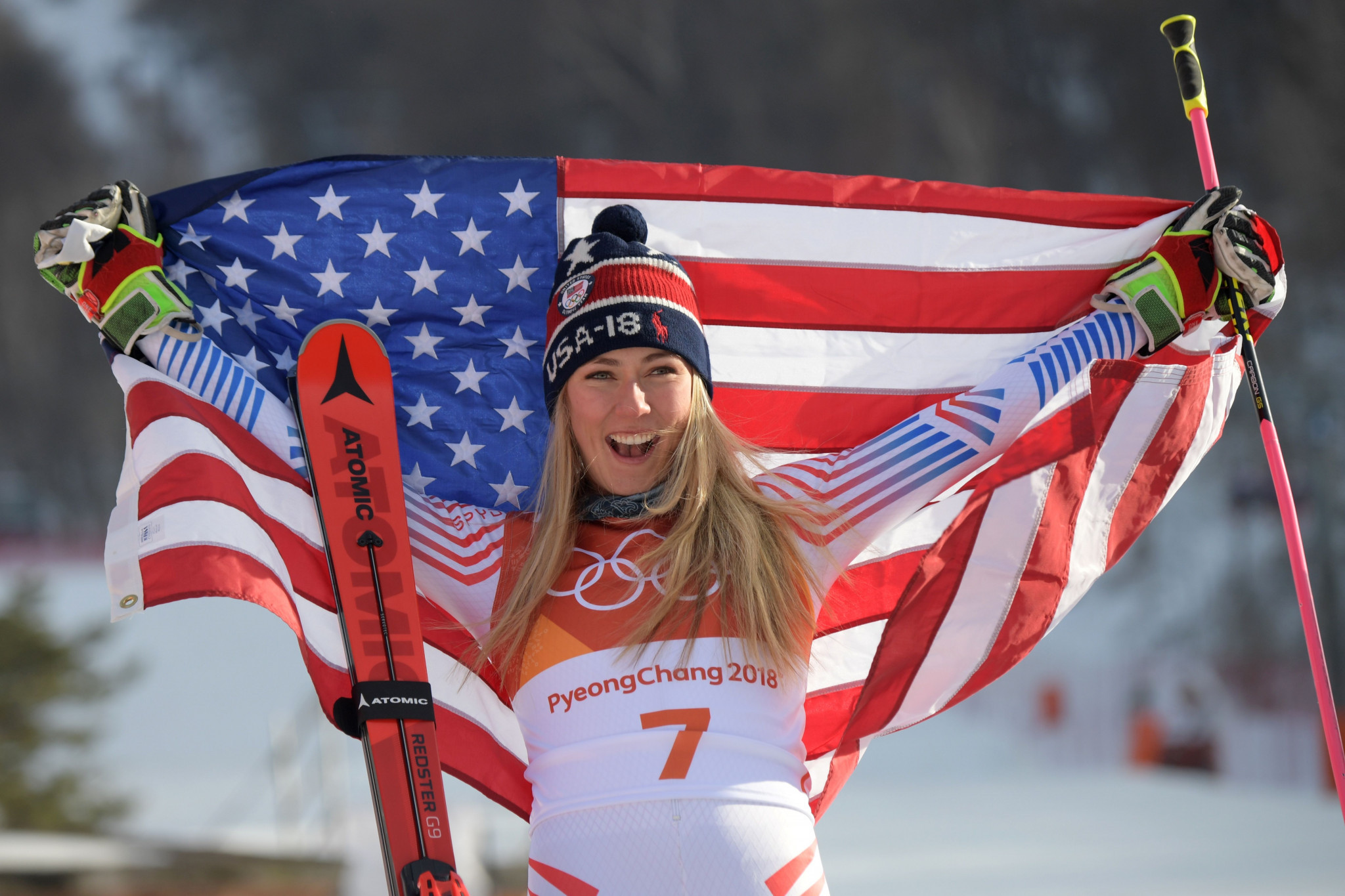 Mikaela Shiffrin Wins Gold Medal at 2018 Winter Olympics