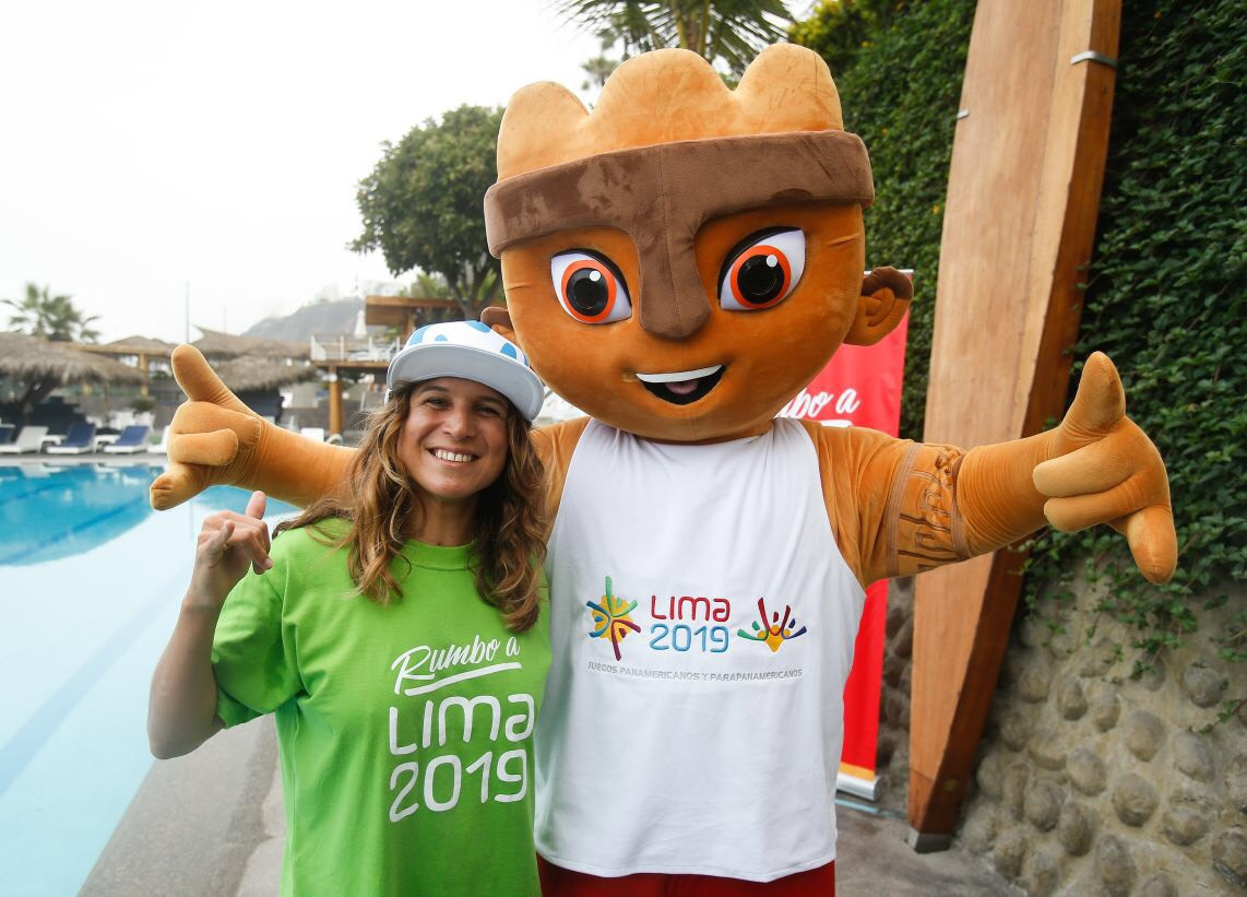 Sofía Mulánovich, left, has been appointed as an ambassador for the 2019 Pan American Games ©Lima 2019