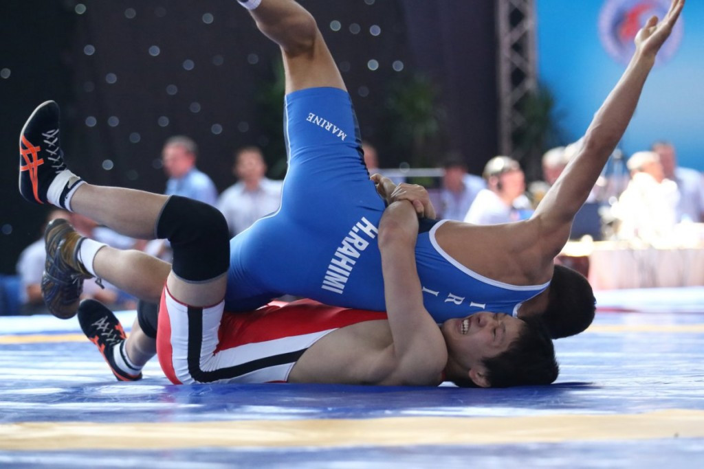 Japan and the United States derail Russian rout at Cadet Wrestling World Championships