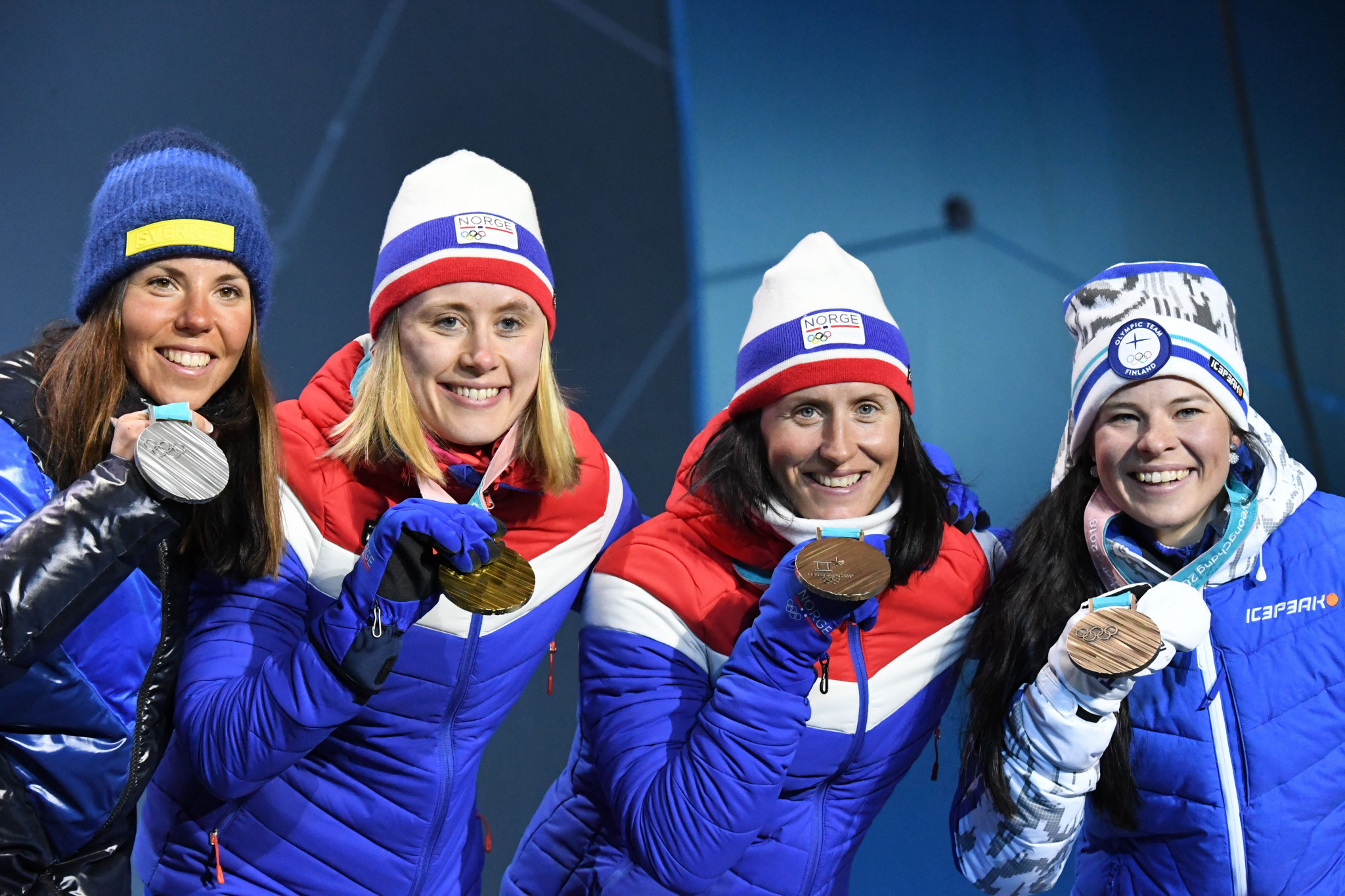 Ragnhild Haga claimed a dominant victory to top the podium ©Getty Images