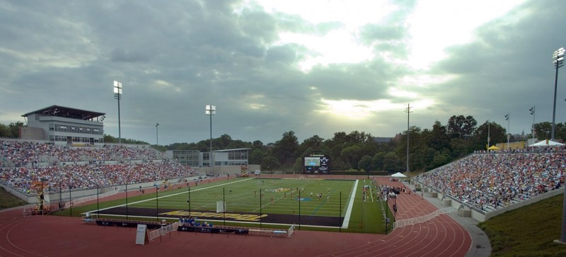 Unitas Stadium will host the main events of the tournament ©Towson University