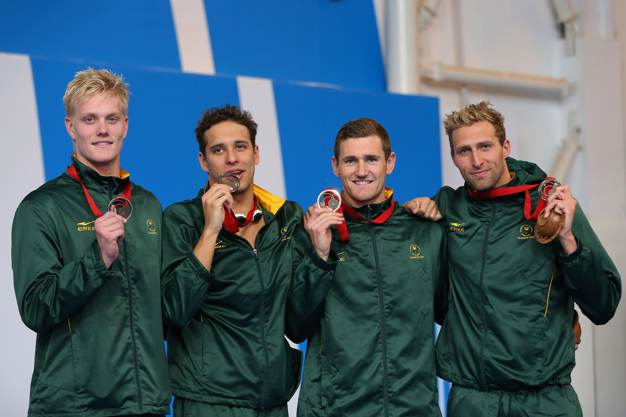 Relays have contributed to six of Chad le Clos' Commonwealth Games medals and would be crucial to his attempts to break the medals record ©Getty Images