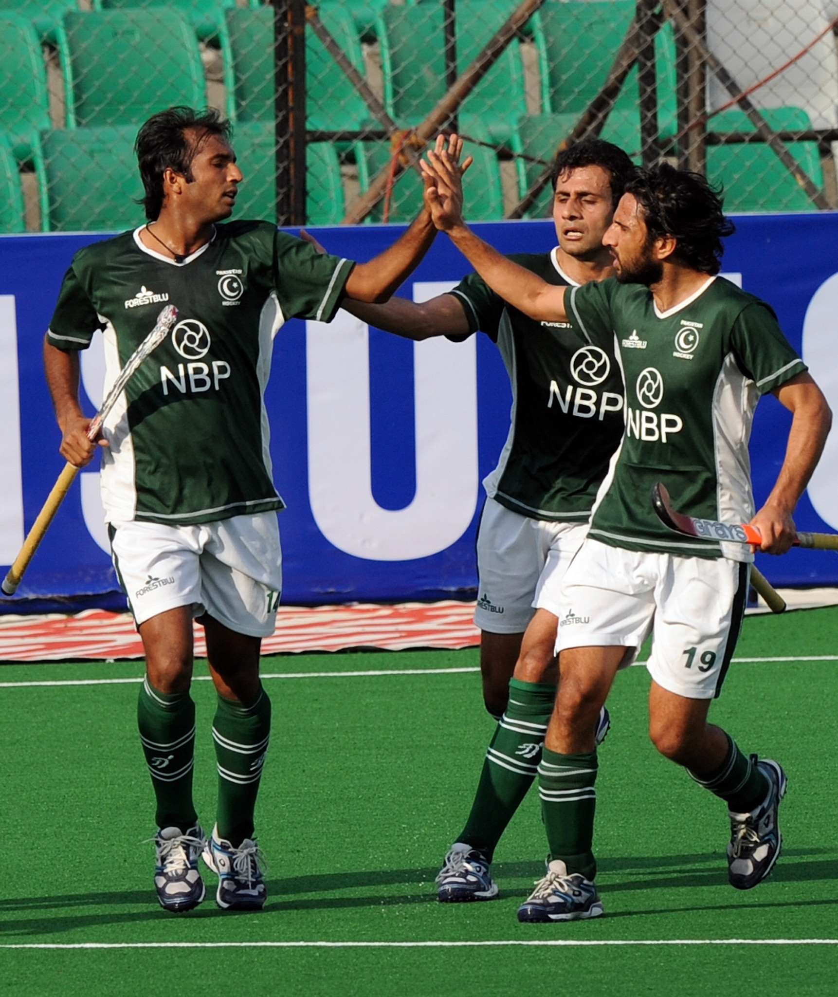 Pakistan competed at the Hockey World Cup in India in 2010 ©Getty Images