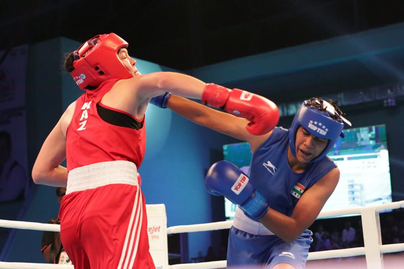 India clinch five boxing titles at Asian Games 2018 test event