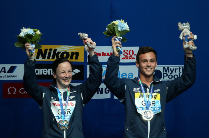 Rebecca Gallantree and Tom Daley, who combined to win mixed team diving gold for Great Britain at this year's FINA World Championships, are among the nominees for British Swimming's Athlete of the Year Award