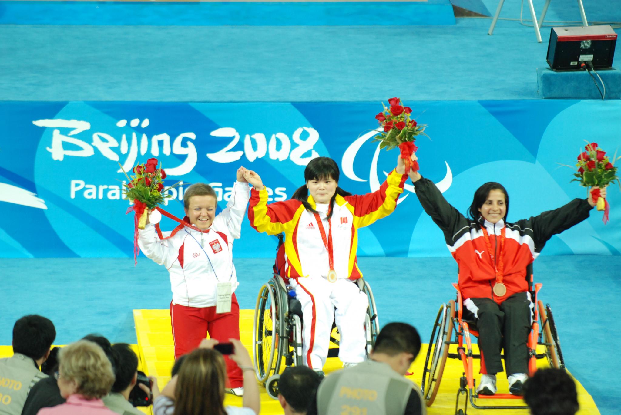 Zeinab Oteify won Paralympic bronze at Beijing 2008 ©Getty Images