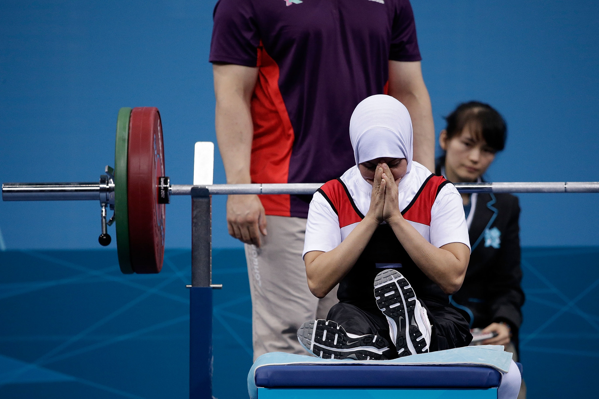 Egyptian powerlifter Zeinab Oteify has received a four-year drugs ban ©Getty Images