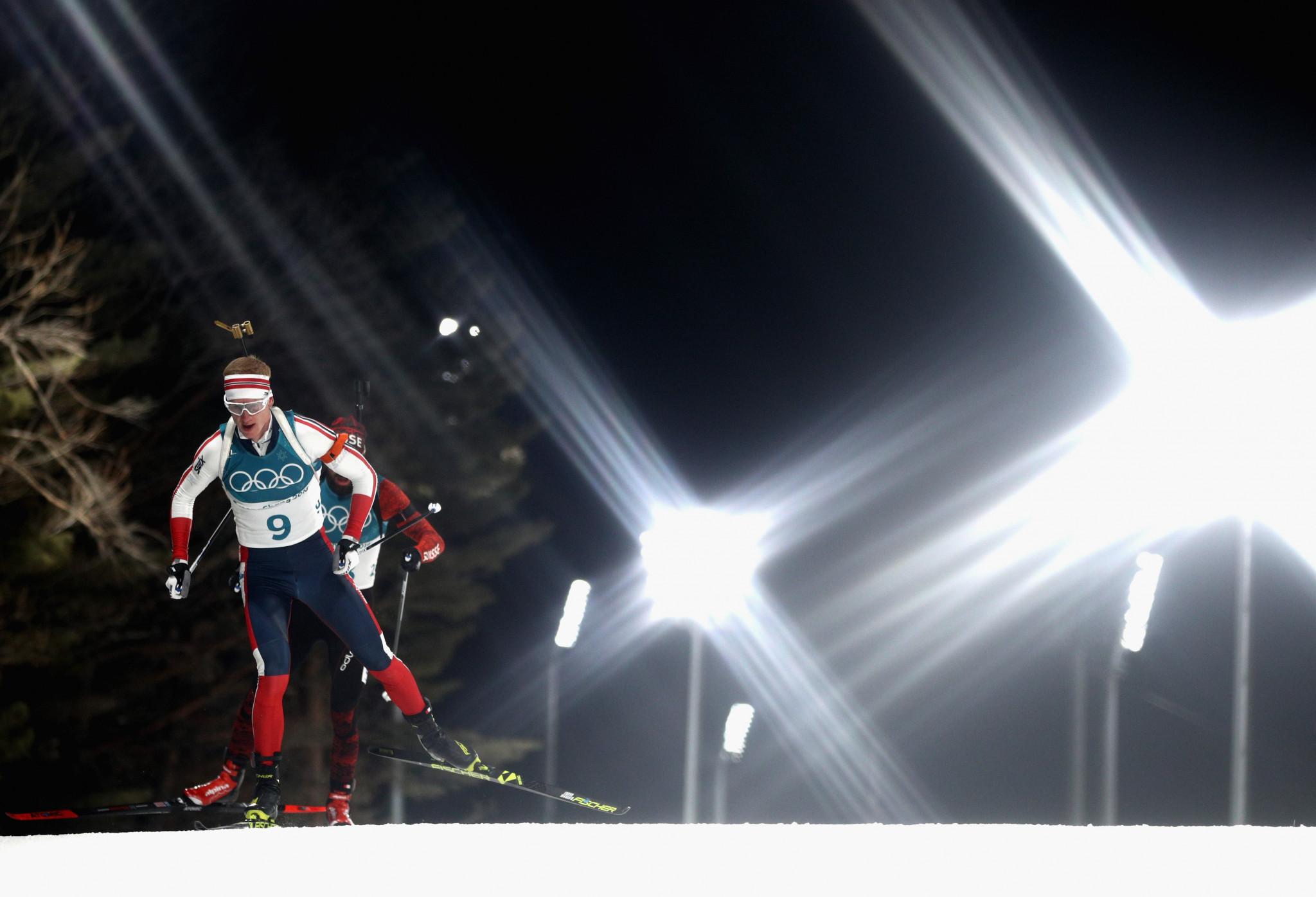 Bø and Oberg claim contrasting individual biathlon victories at Pyeongchang 2018