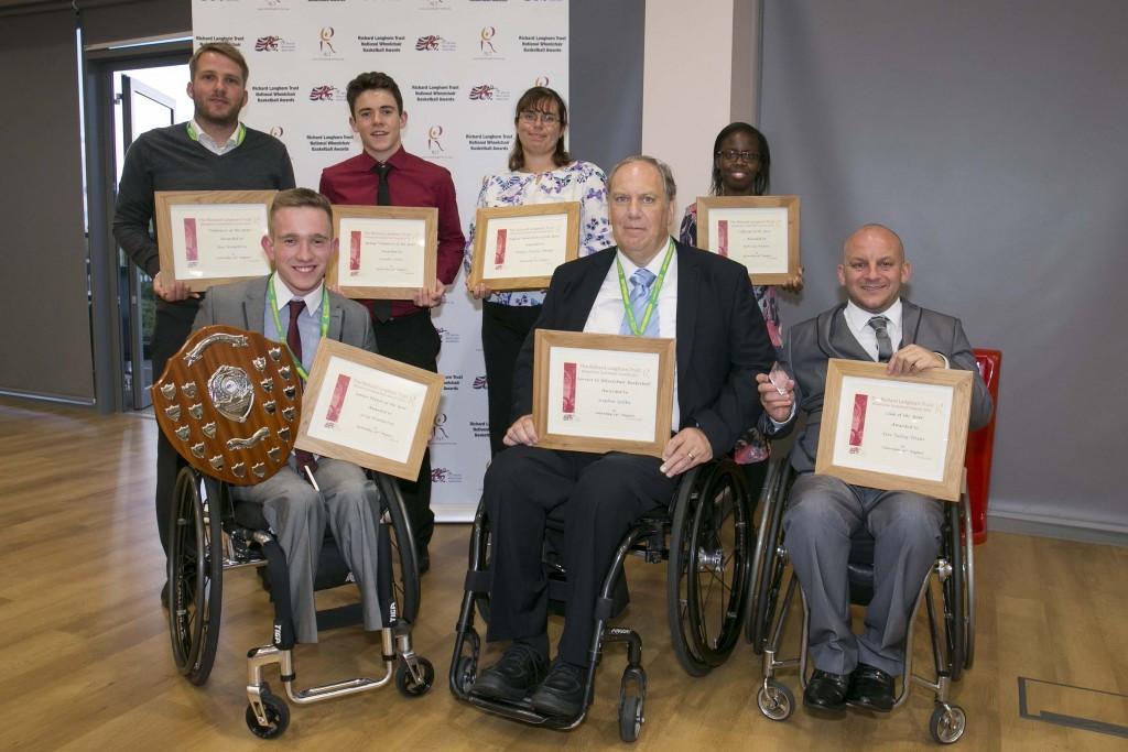 British Wheelchair Basketball holds inaugural club awards ceremony