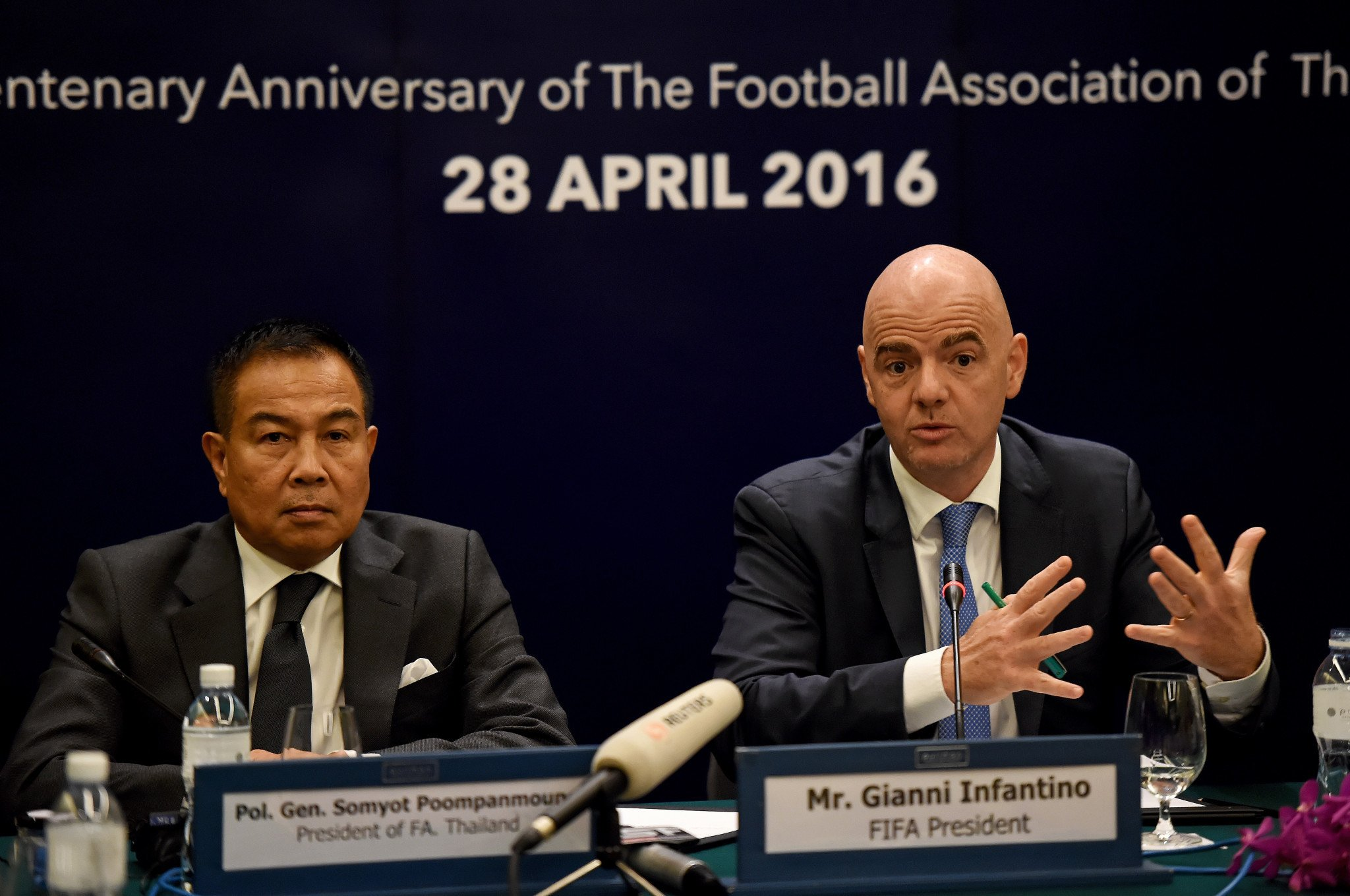 Thai football chief questioned by police