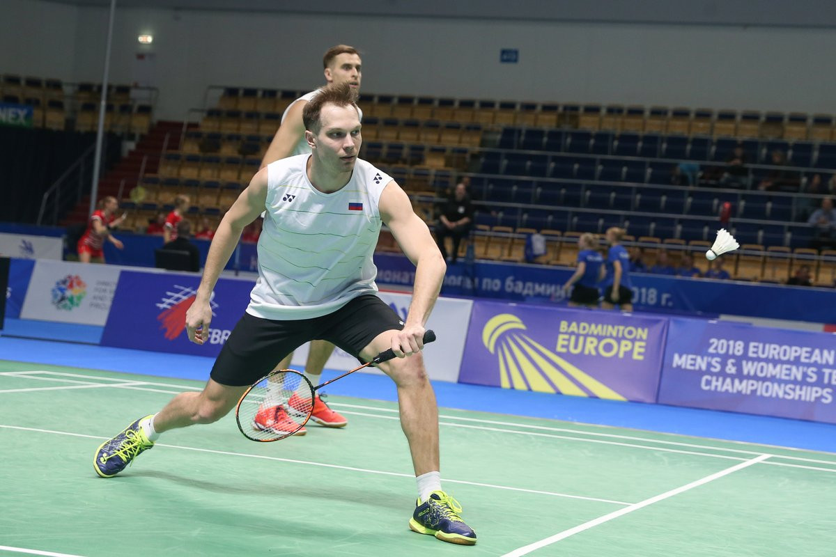 Group stage of European Team Badminton Championships concludes in Kazan