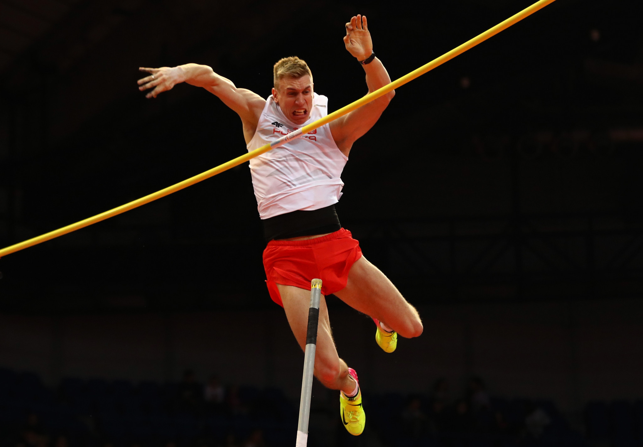 Lisek clinches pole vault title on home soil at IAAF World Indoor Tour