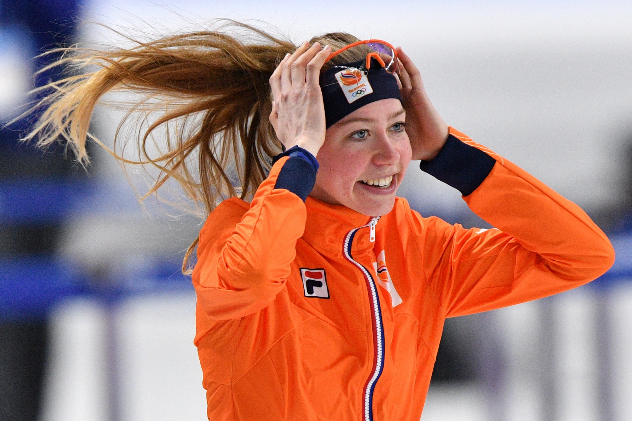 Esmee Visser claimed the women's 5,000 metres speed skating gold medal today as The Netherlands got back to winning ways in the sport at the Pyeongchang 2018 Winter Olympic Games ©Getty Images